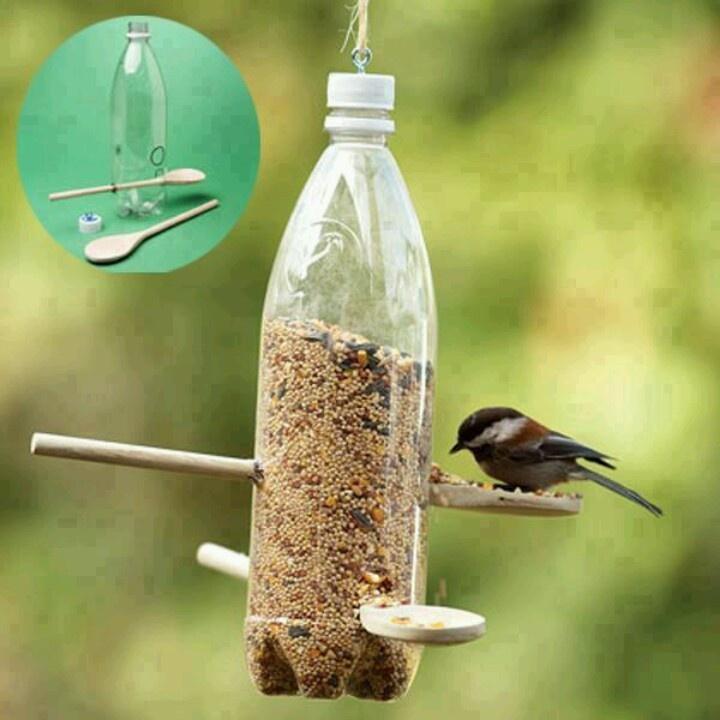 Comment Fabriquer Un Garde Manger Pour Oiseaux Avec Une Bouteille En Plastique Journal Des Bonnes Nouvelles